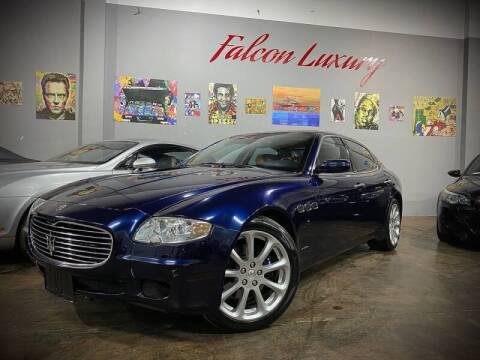 2008 Maserati Quattroporte for sale at FALCON AUTO BROKERS LLC in Orlando FL