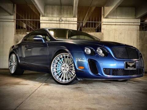 2010 Bentley Continental for sale at FALCON AUTO BROKERS LLC in Orlando FL