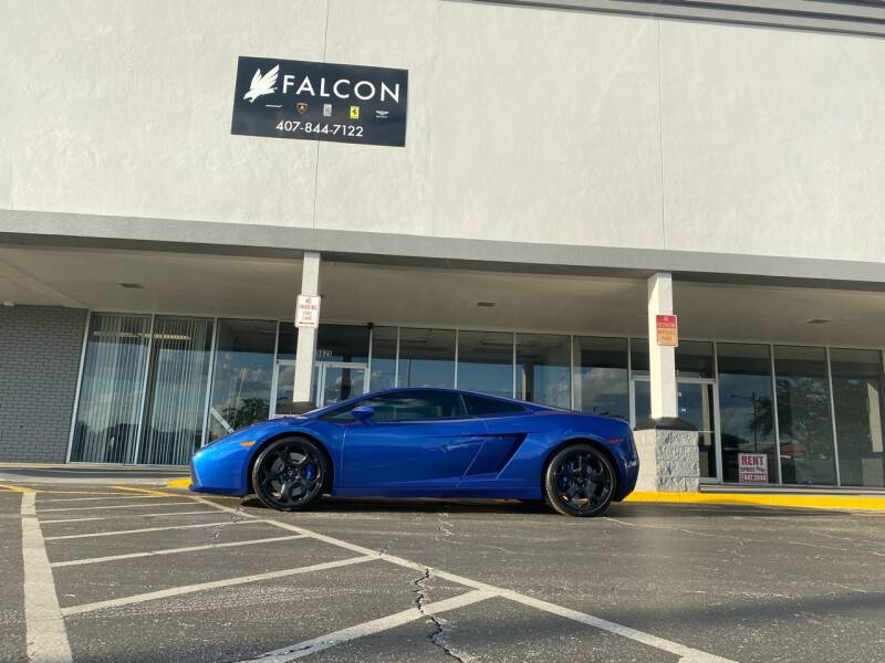 2004 Lamborghini Gallardo for sale at FALCON AUTO BROKERS LLC in Orlando FL