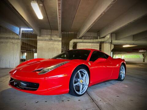 2010 Ferrari 458 Italia for sale at FALCON AUTO BROKERS LLC in Orlando FL