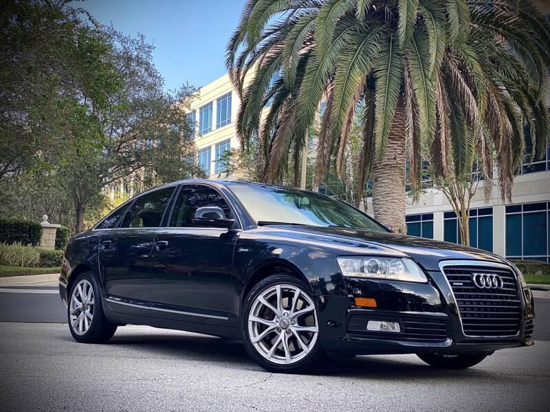 2010 Audi A6 for sale at FALCON AUTO BROKERS LLC in Orlando FL