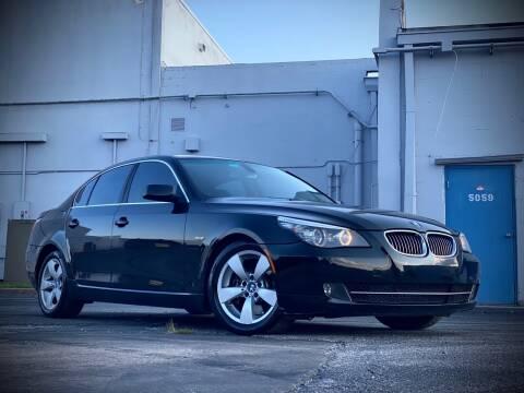 2008 BMW 5 Series for sale at FALCON AUTO BROKERS LLC in Orlando FL
