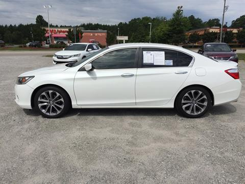 2014 Honda Accord for sale in Cheraw, SC