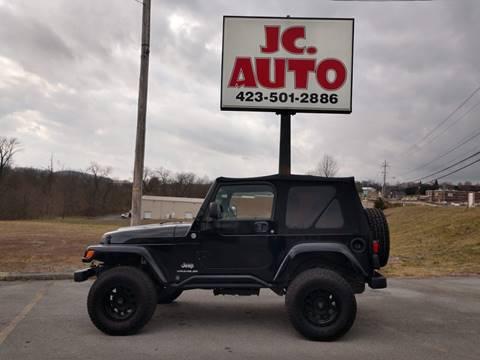 2005 Jeep Wrangler for sale in Johnson City, TN