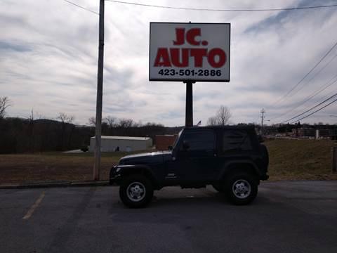 2006 Jeep Wrangler for sale in Johnson City, TN