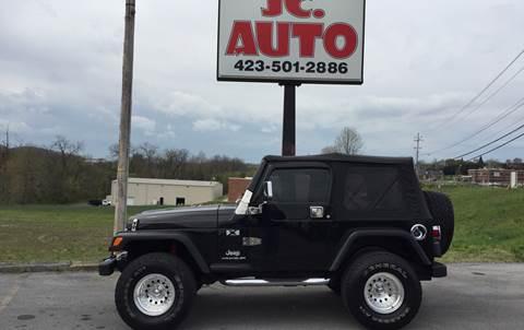 2004 Jeep Wrangler for sale in Johnson City, TN