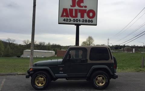 2002 Jeep Wrangler for sale in Johnson City, TN