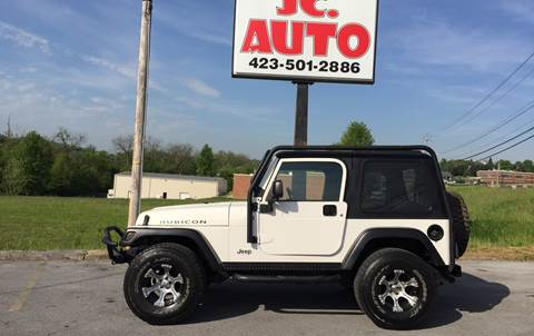 2005 Jeep Wrangler for sale in Johnson City, TN
