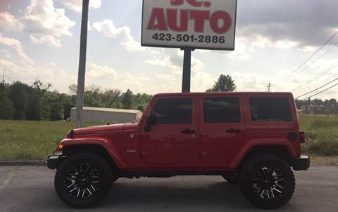 2011 Jeep Wrangler Unlimited for sale in Johnson City, TN
