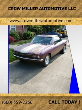1966 Chevrolet Corvair for sale in Trenton, MO