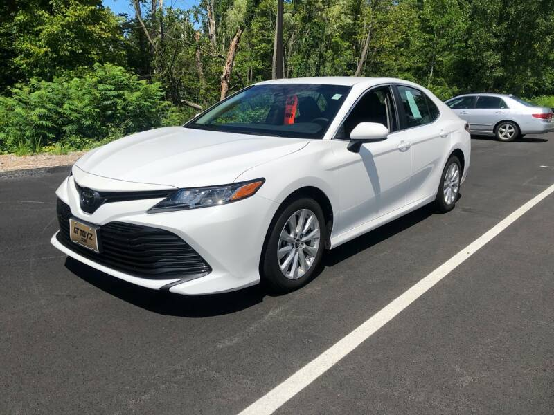 2018 Toyota Camry for sale at GT Toyz Motorsports & Marine in Halfmoon NY