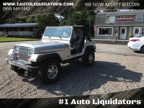 1989 Jeep Wrangler for sale in Yulee, FL