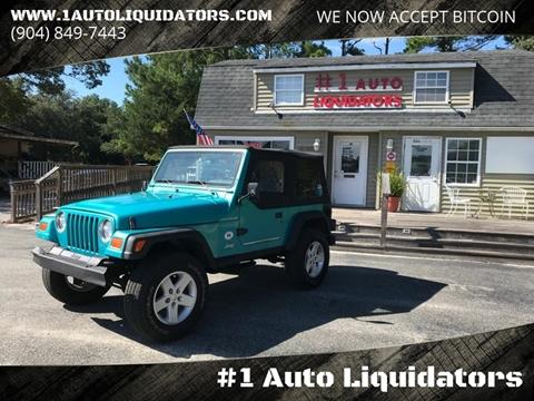 1997 Jeep Wrangler for sale in Yulee, FL