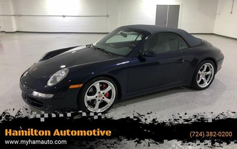 2006 Porsche 911 for sale at Hamilton Automotive in North Huntingdon PA