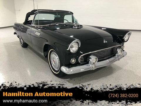 1955 Ford Thunderbird for sale at Hamilton Automotive in North Huntingdon PA