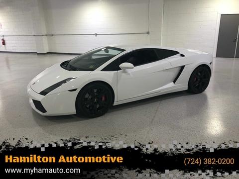 2008 Lamborghini Gallardo for sale at Hamilton Automotive in North Huntingdon PA