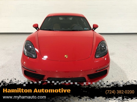 2019 Porsche 718 Cayman for sale in North Huntingdon, PA