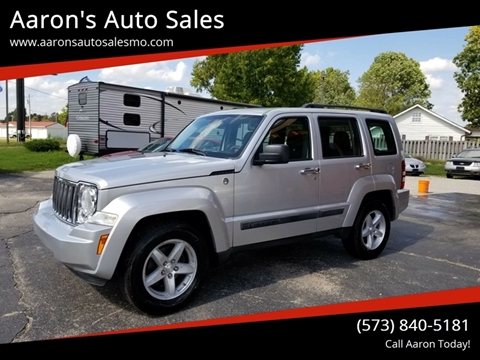 2012 Jeep Liberty for sale at Aaron's Auto Sales in Poplar Bluff MO