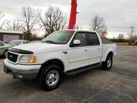2001 Ford F-150 for sale at Aaron's Auto Sales in Poplar Bluff MO