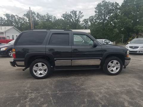 2005 Chevrolet Tahoe for sale at Aaron's Auto Sales in Poplar Bluff MO