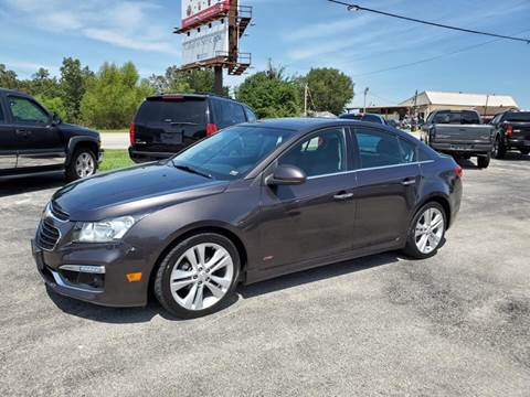 2015 Chevrolet Cruze for sale at Aaron's Auto Sales in Poplar Bluff MO