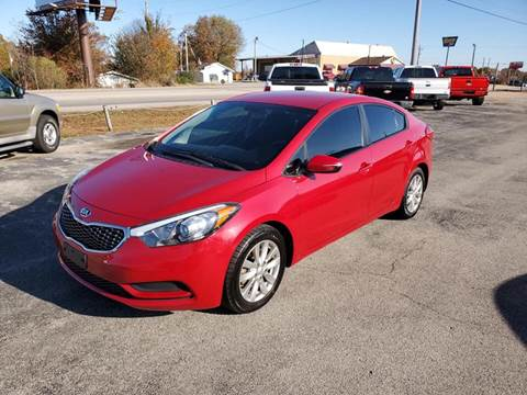 2014 Kia Forte for sale at Aaron's Auto Sales in Poplar Bluff MO