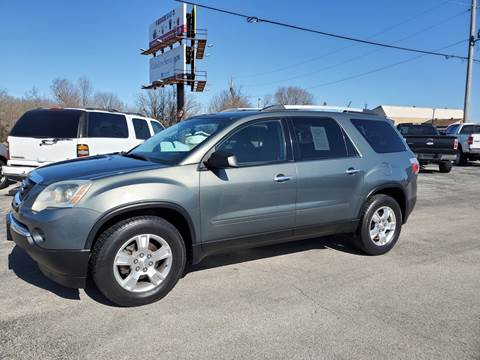 2011 GMC Acadia for sale at Aaron's Auto Sales in Poplar Bluff MO