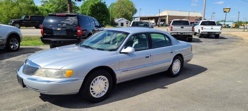 1998 Lincoln Continental for sale at Aaron's Auto Sales in Poplar Bluff MO