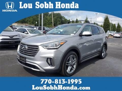 2017 Hyundai Santa Fe for sale at Lou Sobh Honda in Cumming GA