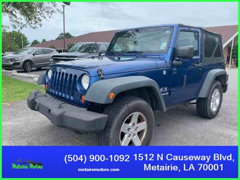 2009 Jeep Wrangler for sale in Metairie, LA