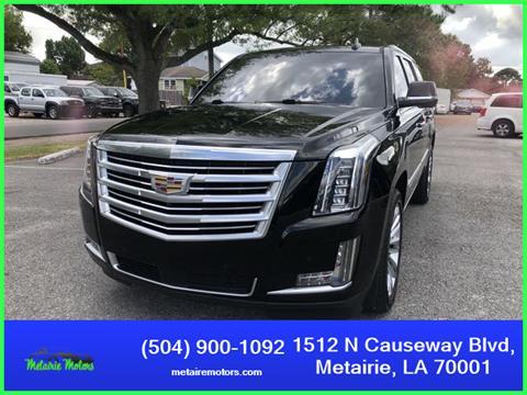 2016 Cadillac Escalade ESV for sale in Metairie, LA