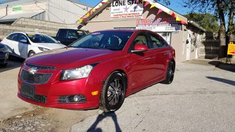 2012 Chevrolet Cruze for sale in Dallas, TX