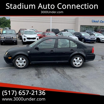 2001 Volkswagen Jetta for sale in Lansing, MI