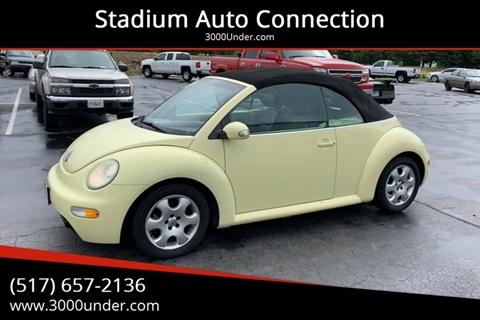 2003 Volkswagen New Beetle for sale in Lansing, MI