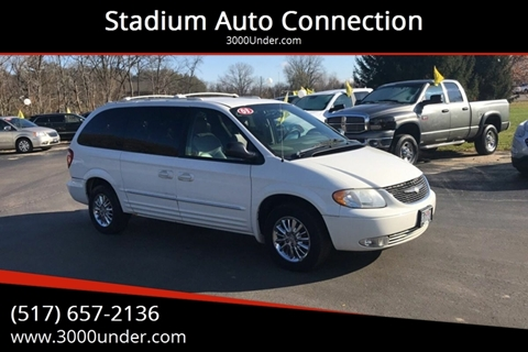 2003 Chrysler Town and Country for sale in Lansing, MI