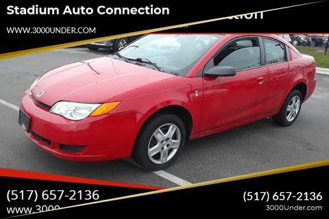 2006 Saturn Ion for sale in Lansing, MI