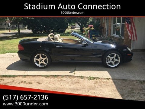 2003 Mercedes-Benz SL-Class for sale in Lansing, MI