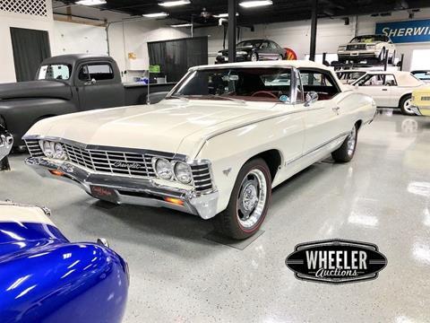 Modernistisk Used 1967 Chevrolet Impala For Sale - Carsforsale.com® HF-53