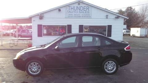 2009 Ford Focus SE for sale at Thunder Auto Sales in Springfield IL