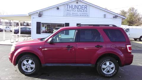 2008 Ford Escape XLT for sale at Thunder Auto Sales in Springfield IL