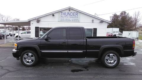 2007 GMC Sierra 1500 Classic SLE2 for sale at Thunder Auto Sales in Springfield IL