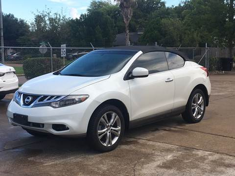 2011 Nissan Murano CrossCabriolet For Sale In Houston, TX
