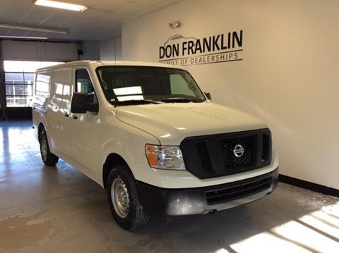 Nissan Dealership Lexington Ky >> 2019 Nissan Nv Cargo For Sale In Lexington Ky