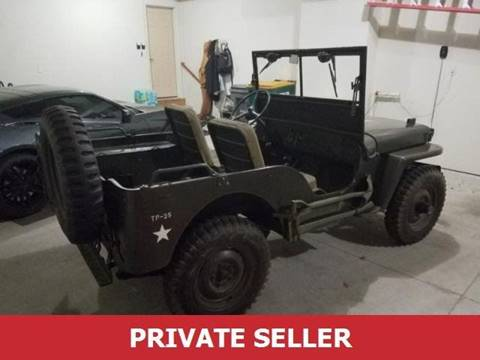 1946 Willys Jeep for sale in Midvale, UT