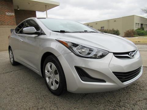 2016 Hyundai Elantra for sale in Dallas, TX
