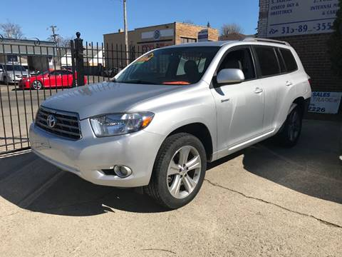 2008 Toyota Highlander For Sale >> 2008 Toyota Highlander For Sale In Hamtramck Mi