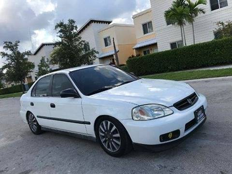 1999 Honda Civic for sale in Hollywood, FL