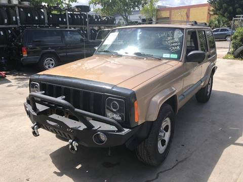 1999 Jeep Cherokee for sale in Hollywood, FL