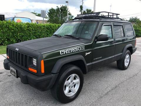 1998 Jeep Cherokee for sale in Hollywood, FL