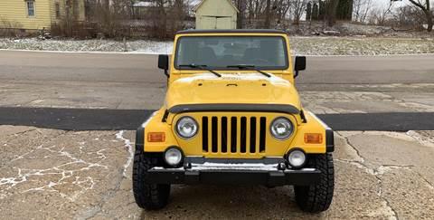 2001 Jeep Wrangler for sale at NJ Quality Auto Sales LLC in Richmond IL